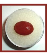 4.95ct Red CARNELIAN Oval Checkerboard 15x10mm Faceted Natural Loose Gem... - $26.99