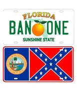 Smokey and the Bandit, BAN ONE & STATE FLAG LICENSE PLATE SET, Trans-am - $24.99