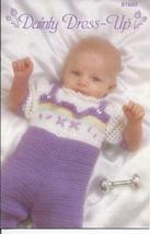 RARE~Dainty Dress Up Crochet Pattern~Annie's Attic~Dated 1986 - $28.99