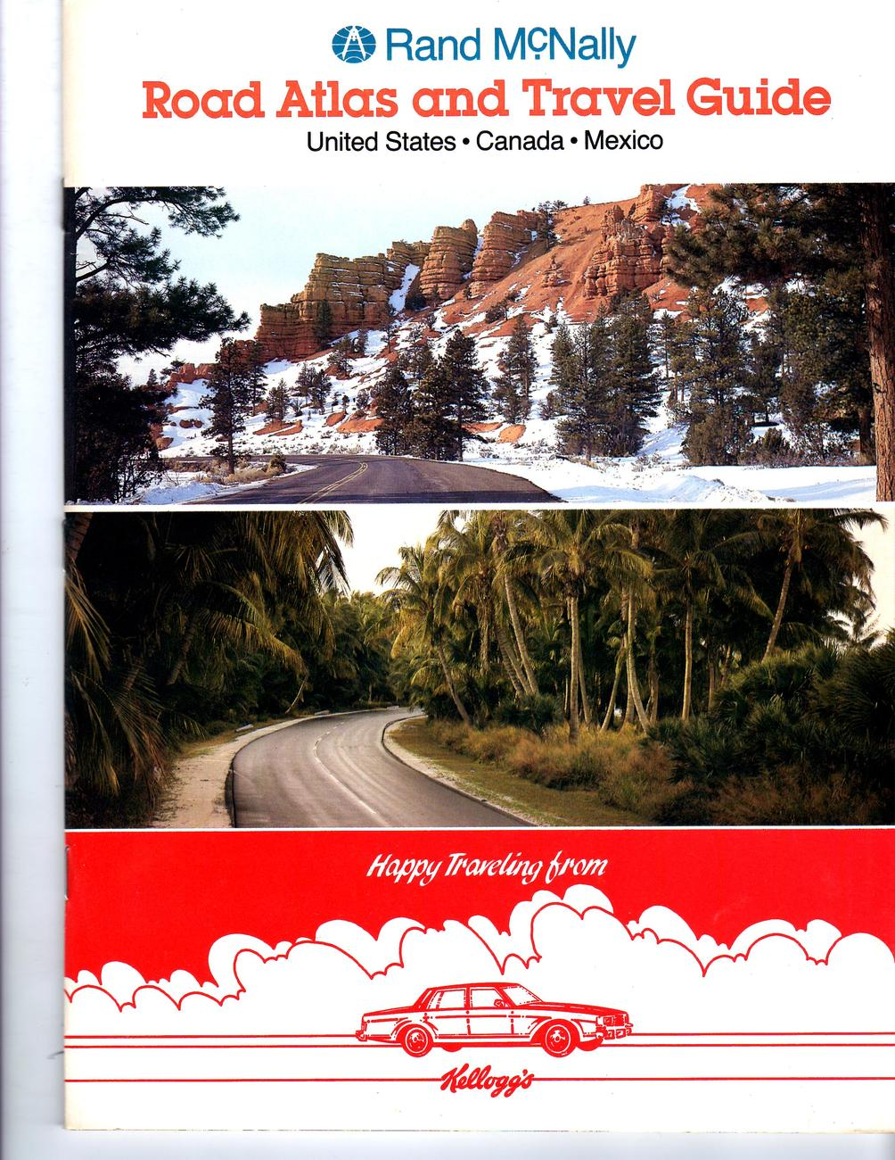 Primary image for Rand McNally Road Atlas And Travel Guide,  U.S. -Canada -Mexico