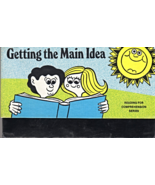 Reading For Comprehension Getting The Main Idea Series cards By Elayne S... - $4.90