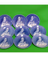 Vintage Enoch Wedgwood (England) Collectible Blue Benjamin Franklin Porc... - $2.95