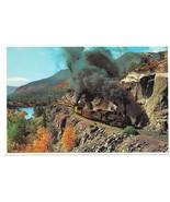 Durango Silverton Narrow Gauge Train Doubleheading Steam Engines RR Post... - $4.99
