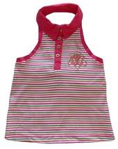Dereon Size L (6) Girls Striped Halter Top - $5.99