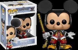 Pop! Disney: Kingdom Hearts Mickey Vinyl 261 - $9.00