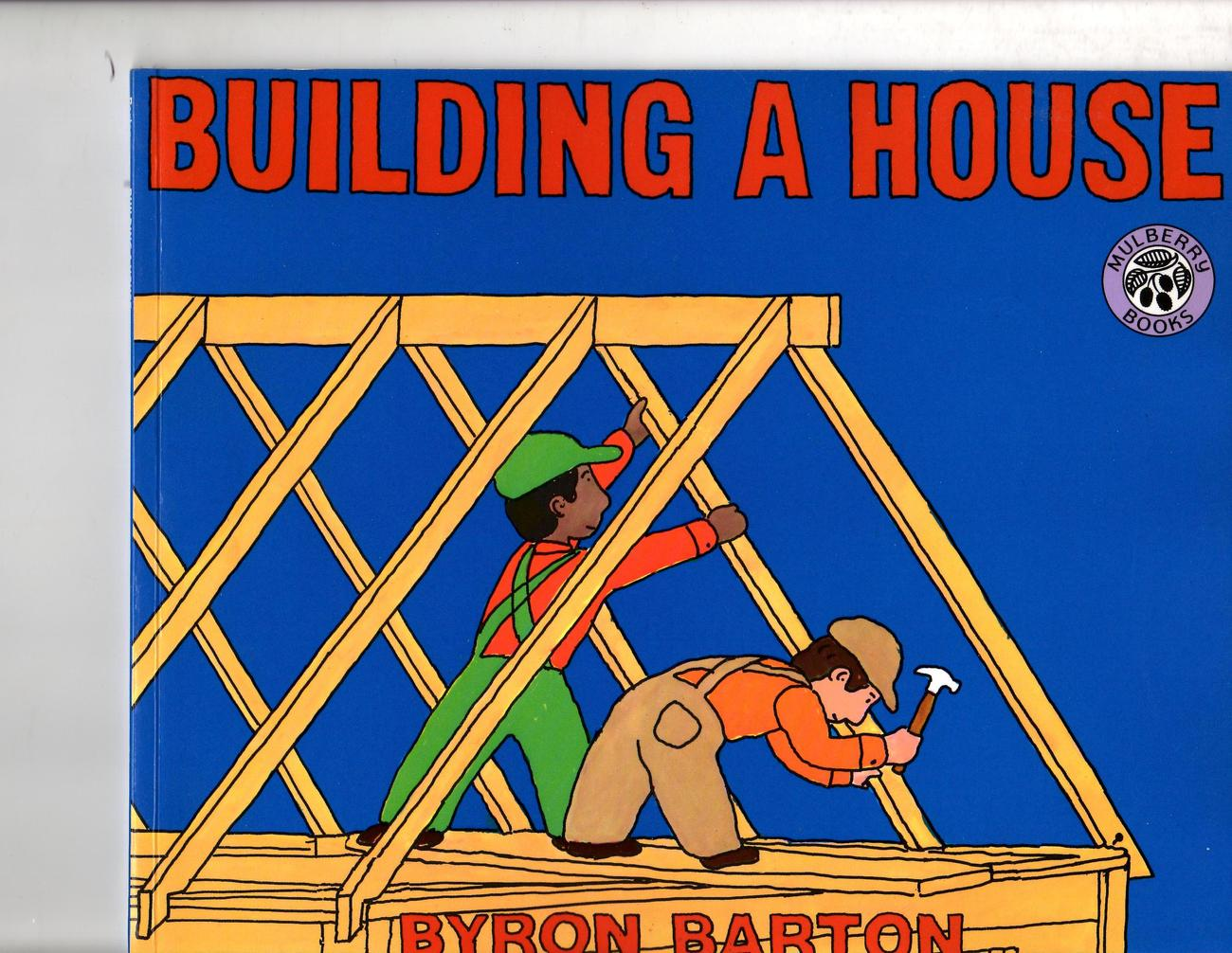 Primary image for Building A House By Byron Barton