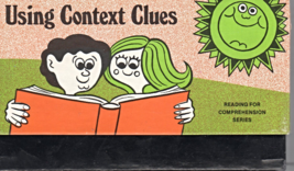 Reading For Comprehension Series -Using Context Clues by Anne Rawson - $4.95