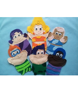 Bubble Guppie hand Puppets - $29.99