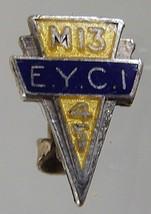 CANADA TORONTO 1945 EAST YORK COLLEGIATE M13 STERLING ENAMEL LAPEL PIN - $4.99