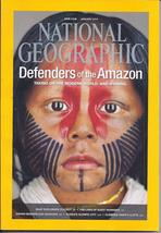 Defenders Of The Amazon @ National Geographic Jan 2014 - $2.95