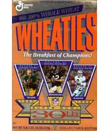 super bowl xxx anniversary wheaties cereal box bart starr bradshaw aikman footba - $9.99