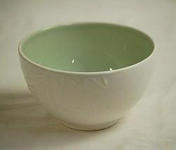 Aspen by Pfaltzgraff Soup Cereal Bowl Arborwood Green White Pine Needle Motif - $21.77
