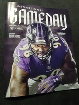 Baltimore Ravens GAME DAY Program Multi Autograph Marshal Yanda image 1