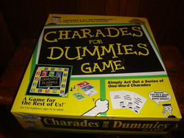 Charades For Dummies Game 1998 Pressman NEW Sealed - $19.23
