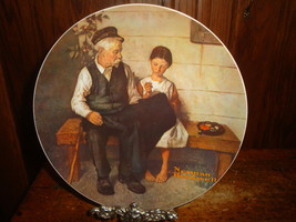 Norman Rockwell The Lighthouse Keeper's Daughter Collector Plate Knowles - $10.39