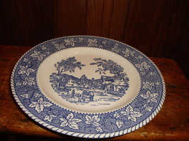 4 Homer Laughlin Shakespeare Country Dinner Plates Stratwood Collection - $22.44