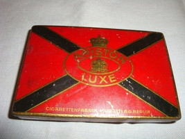 Vintage Ariston Luxe Cigarette Tin Muratti A.G.... - $9.49