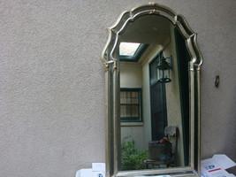 Vintage La Barge Mirror Silver with Gilt Ornate Hollywood Regency Mid Ce... - $261.65