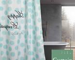 Lyester waterproof mildewproof modern bathtub bathroom curtain with 12 hooks 71 71 thumb155 crop