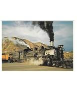 RR Durango Silverton Narrow Gauge Train Steam Engine Petley Railroad Pos... - $4.99