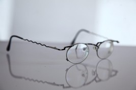 Eyewear, Silver, Black Frame, RX-Able Prescription Lenses. - $29.45