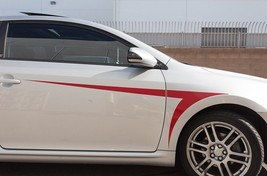 Scion tC 05-10 Fender Stripe Sticker Accessories Vinyl Decal Parts Satin... - $39.95