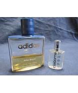 Vtg Addidas Original After Shave 1.7 oz Glass Bottle + Claiborne Sport .... - $9.97