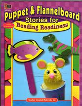 Puppet & Flannelboard Stories for Reading Readiness - $5.75