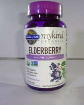 Garden of Life Mykind Organics Elderberry Immune Gummies for Kids & Adults 120ct - $19.70