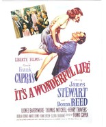 It's A Wonderful Life James Stewart Donna  Reed Christmas 8X10 Color Mov... - $6.99