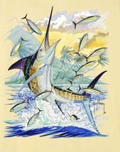 Guy Harvey Marlin Fishing Cross Stitch Pattern***L@@K*** - $4.95