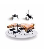 Cute Mini Ant Fruit Fork Eco Friendly Plastic Easy Decoration Kitchen Ba... - €7,62 EUR