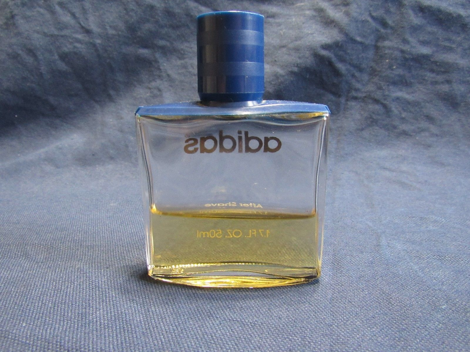 Vtg Addidas Original After Shave 1.7 oz Glass Bottle + Claiborne Sport .18 oz