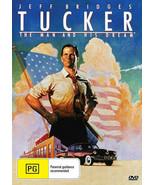 TUCKER - The Man And His Dream  Jeff Bridges  Biography - DVD - $16.90