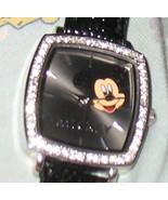 Beautiful Disney Rhinestone Mickey Mouse Watch NEEDS BATTERY - $65.00