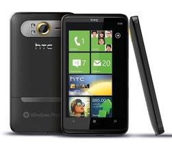 """New HTC HD 7 - 16GB (GSM UNLOCKED) 4.3"""" Windows Smartphone T9295- Black"""