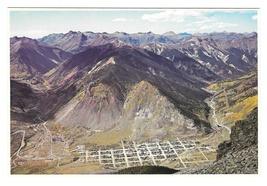 CO Silverton Colorado Aerial View Mining Town Vintage Petley 4X6 Postcard - $7.99