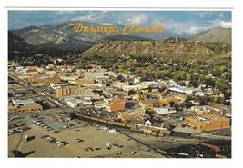 CO Durango Colorado Aerial View Silverton Narrow Gauge Train Petley 4X6 ... - $7.99
