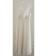 Ever Beauty Formal Wedding Dress or Mother of the Bride Dress Size 4~ St... - $89.99
