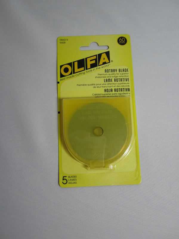 Olfa Rotary Blades 60 mm 5 pack
