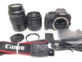 Canon EOS kiss x7 standard lens telephoto lens double lens Kit japan F/S... - $828.29