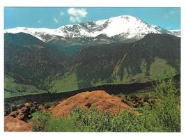 Colorado Pikes Peak Garden of the Gods Vintage Charles Motisher Postcard... - $4.99