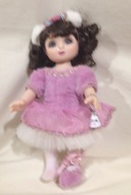 So Cute Marie Osmond Pink Dress Ballet Dancer Doll - $18.62