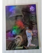 Derek Jeter 1999 Upper Deck SP Epic Figures #E18 Baseball Card NY Yankees - $5.45