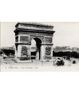 c1910 - The Arc de Triomphe, Paris, France - Unused - $2.99