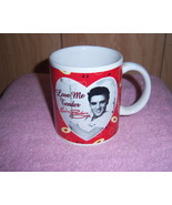Elvis Presley Cup 1998 Love Me Tender Signature Collectible Record Music... - $5.00