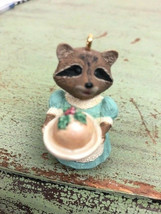 "Hallmark Keepsake Ornament ~ 1991 ""Plum Delightful"" Raccoon ""Tender Touc... - $6.93"