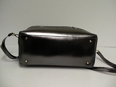 DKNY cross body handbag black coated logo new