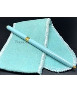 Tiffany & Co. Blue Enamel and Gold Tone Ball Point Pen  - $186.19