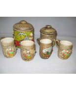Hand Made Holland Mold 2 Canisters 4 Cups Up Ra... - $15.95